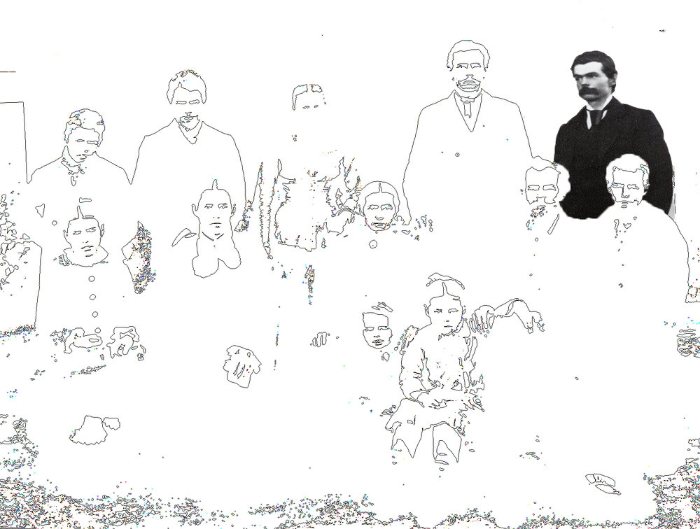 "THOMAS JEFFERSON RIGGS, ""UNCLE TOM"" / FATHER OF RICHARD DANA RIGGS"