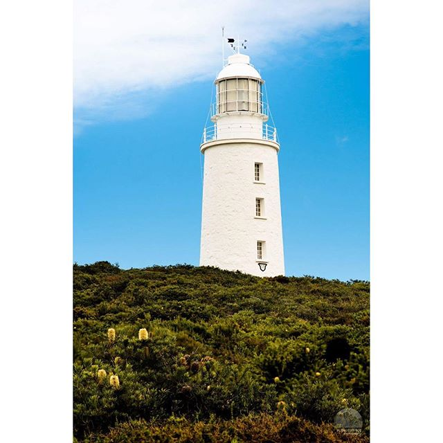 Cape Bruny Lighthouse  Built in 1836 this historic lighthouse stands 114m above the waters of Cape Bruny. #discovertasmania  @tasmania @brunyisland #lighthouse