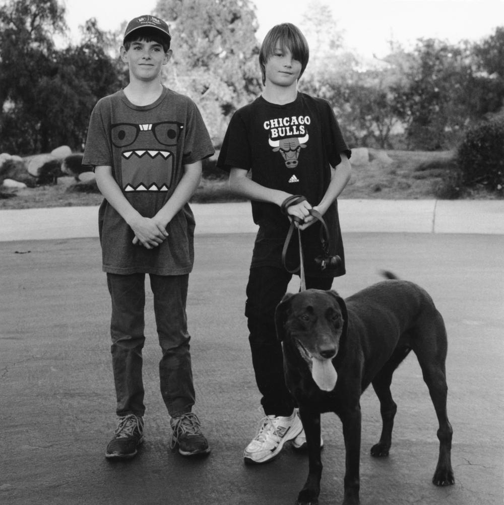 Caleb, Tibias and Bella.