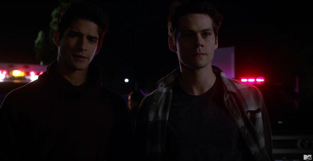 teen wolf season 6 first scene