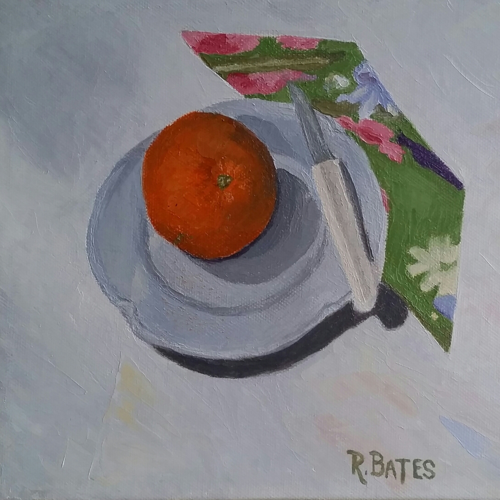 Orange You Pretty   ©  Renée Bates   2015