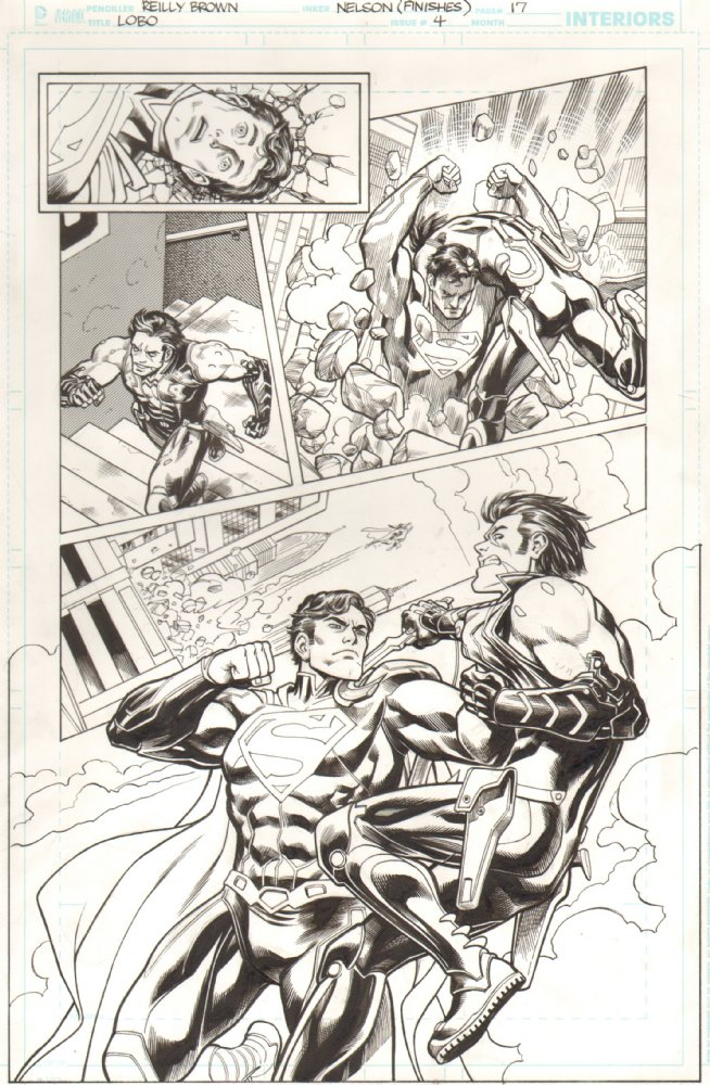Check out some of the new art for sale in my gallery at  Anthony Snider's Comic Art .  A bunch of new stuff from my run on Lobo,  including my first time drawing Superman! as well as some Deadpool pieces that I recently found stashed away.  http://www.anthonyscomicbookart.com/ArtistGalleryRoom.asp?ArtistId=1172