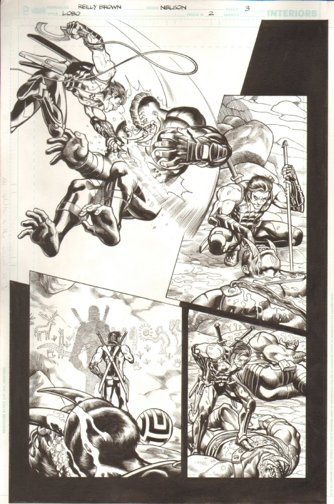 Check out my original comic book pages for sale at  Anthony Snider's Comic Art.