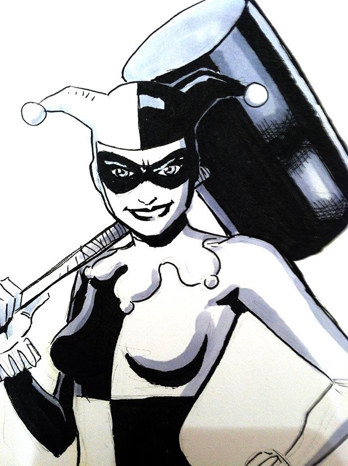 A Harley Quinn piece I drew