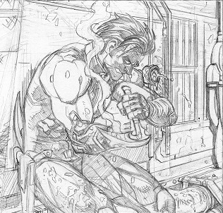 Ouch.  Pencils from Lobo #3