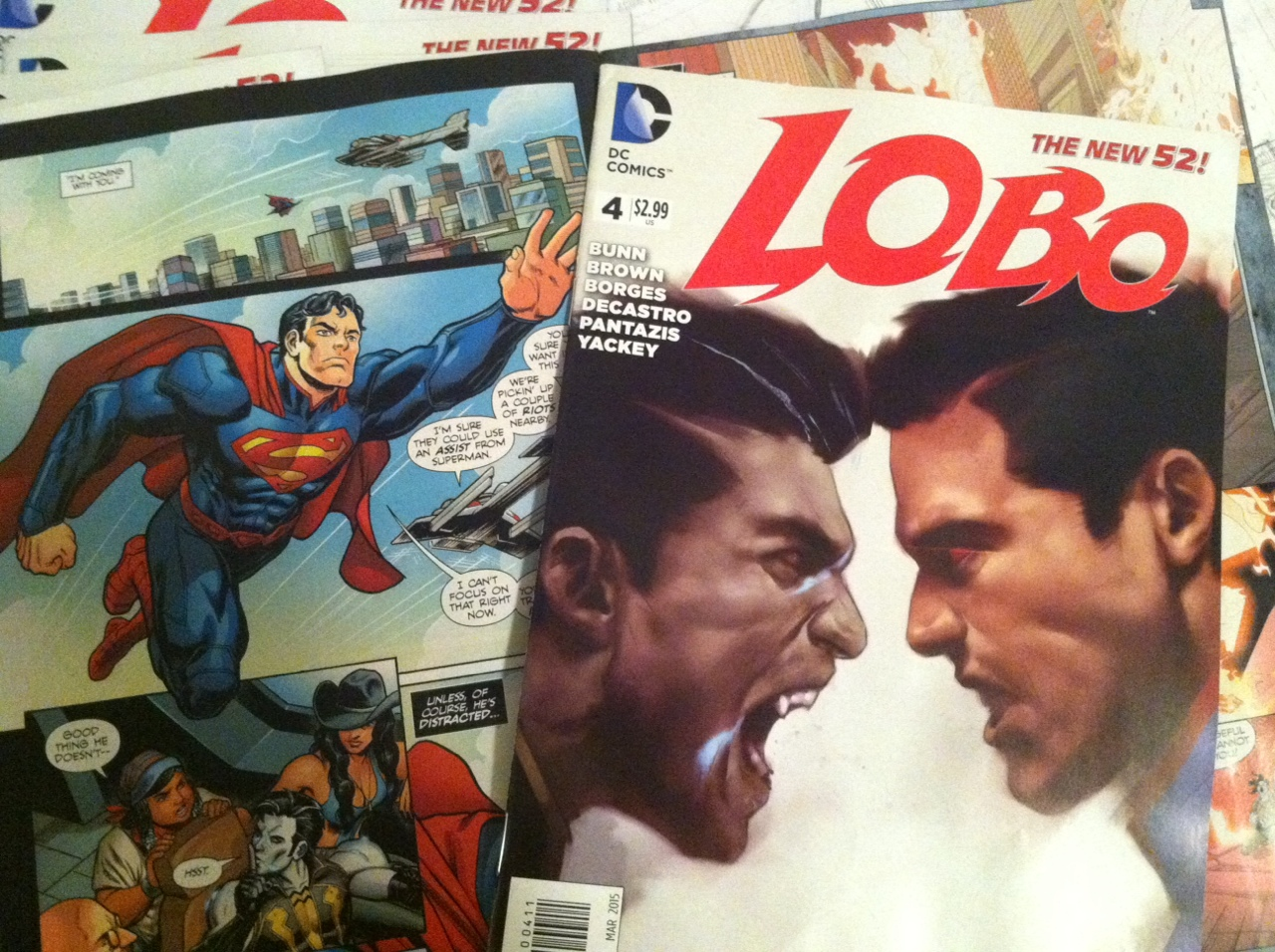 Got some Lobo #4 comps in the mail– Merry Christmas to me!