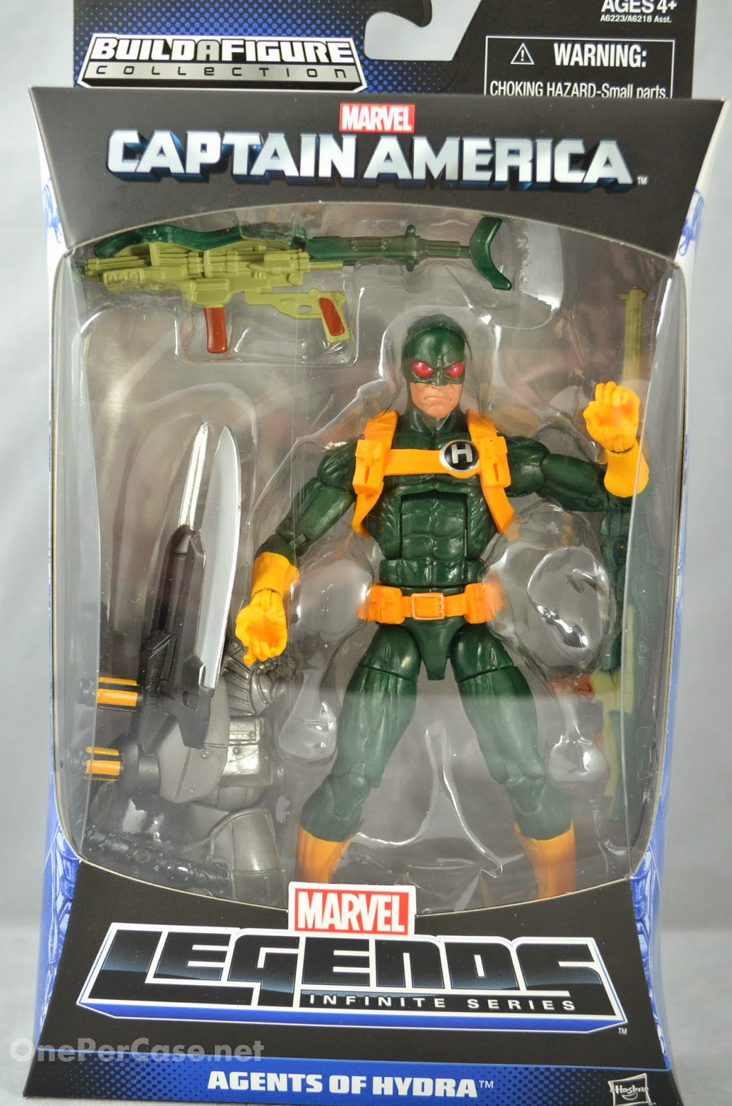 Hydra Bob action figure whaaaaaaat???? Heh, you guys have got to let me know when stuff like this happens!   This Marvel Legends: Agents of Hydra figure is definitely Bob.  I know because the only reason he has the H on him was to make sense of a joke that Fabian kept putting in the script, where people would ask Bob what the H stood for.  I'd initially based his design off a comic that didn't use the original Hydra uniforms with the huge H on the front, so I had to include one somewhere, thus his H badge. So yeah, this is probably the closest we'll ever get to an official Bob action figure, and I mean, since Bob's the only Hydra agent to ever wear that particular design (well, only Bob and the agent that Deadpool mistakes for Bob at the end of The Gauntlet #6), whether Marvel wants to admit it or not, we all know it's him :)