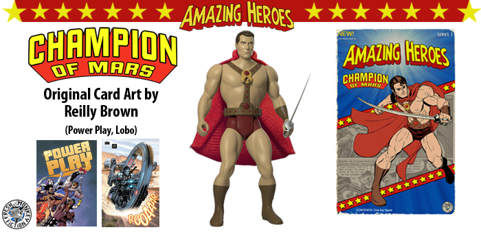 Amazing Heroes Kickstarter! I did some artwork for this Kickstater project that's making action figures of some classic golden age characters.  I always loved ERB's John Carter books, so I couldn't pass up the chance to draw the Champion of Mars.  Check out the fundraiser to see what other characters they're making, and if you like what you see maybe even put some money down to pick one up. https://www.kickstarter.com/projects/549582372/amazing-heroes-wave-15-retro-super-hero-action-fig?ref=nav_search