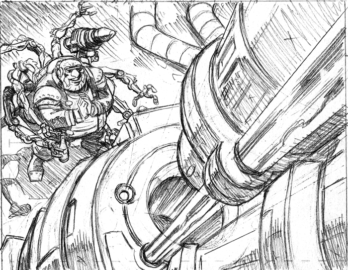 Another peek at the pencils from Lobo #1