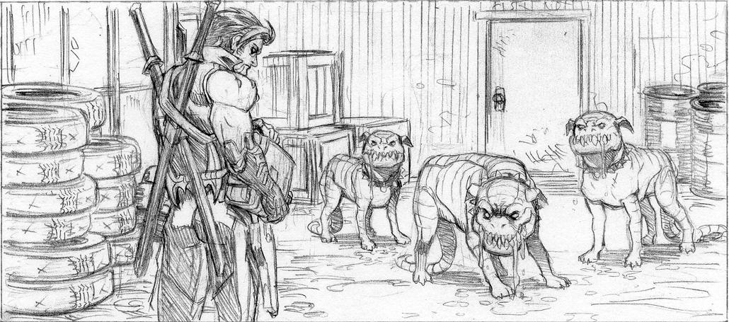 Lobo #1 pencils!
