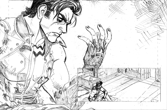 More Pencils from Lobo #1  I'm at NYCC, booth BB2, drop by if you're there!