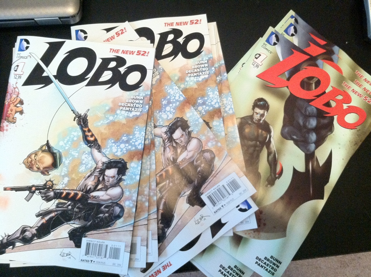 Lobo comps came in! Looking bad ass!