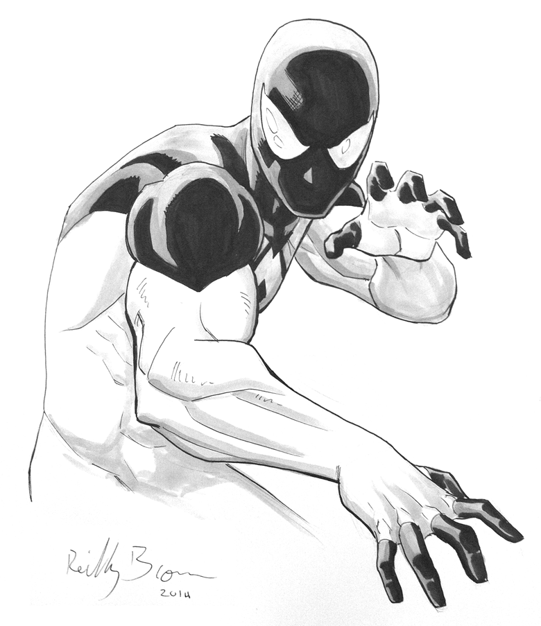 Scarlet Spider. Baltimore Comic Con was a great time for commissions. But I'll be at NYCC at table BB2 if you want your own!