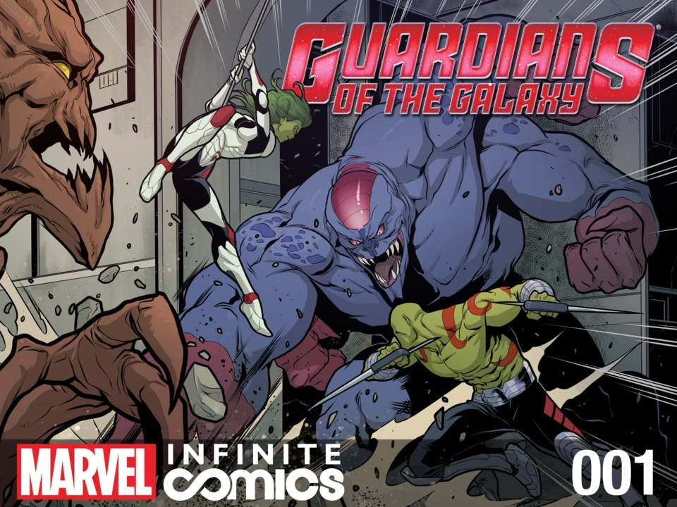 This Guardians of the Galaxy infinite comic that I worked on was just released today. http://www.comicvine.com/articles/guardians-of-the-galaxy-infinite-comics-one-shot-n/1100-149421/ Tim Seeley wrote it, I did all the storyboards, and Iban Coello and Jacopo Camagni finished the art off, along with Jim Charalampids on colors. Check it, I'd love to hear what you think!