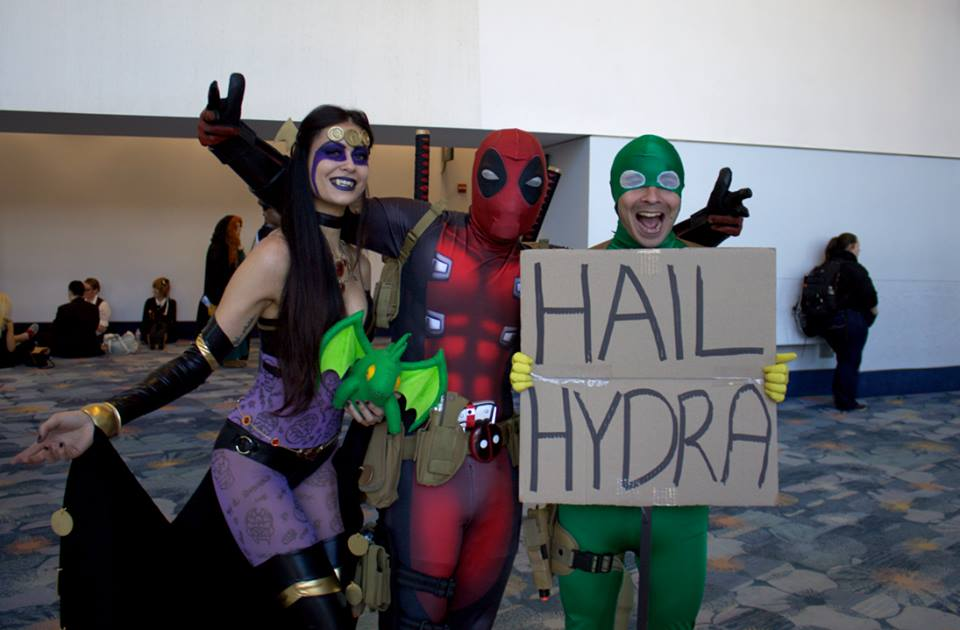 Hail Hydra indeed. dpiddy-mercwiththemoves: Team Mischief! D-Piddy, Jenki and the Notorious BOB. https://www.youtube.com/watch?v=z8EhgKZfFNE