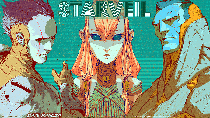 This comic looks awesome.  Check it out! daverapoza: I'm back full into StarVeil so I wanted to post this up again(also has a paypal option now)! If you're into StarVeil please help me continue to produce the comic, regardless though I'll try my best to keep everything regular from now on. All help is greatly appreciated!  If you haven't seen the comic, heres everything so far -  http://daverapoza.tumblr.com/tagged/SVCN/chrono The site is basically a subscription service, so if you donate $1, each updated page will add $1(donated at the end of the month). I do 3-4 pages a month but you can add a cap so that you only donate $1 that month flat instead of per update if you don't want to go per page. This makes it possible for me to take time away from client work to focus on personal projects like StarVeil and potentially much more in the future if all goes well! Thanks everyone for the support, be it donation, shares, reblogs, nice words, everything is hugely appreciated! http://www.patreon.com/DaveRapoza