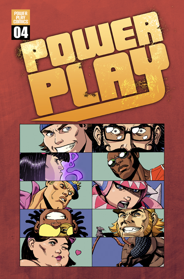 Power Play #4– available next week! I know you guys have been waiting patiently, and the fourth chapter in the revolutionary series is finally going up on sale at Comixology next week!  In the mean time, get caught up on the previous issues here.