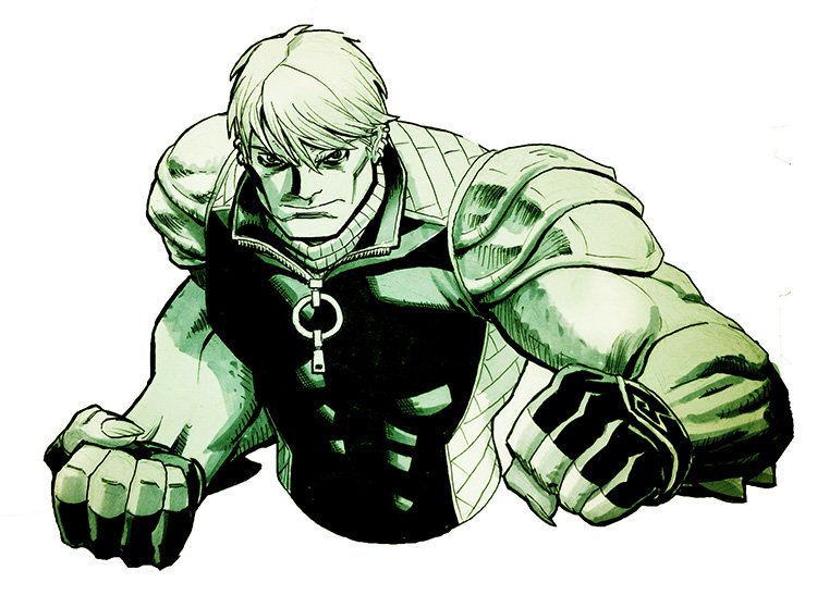 Hulkling from Young Avengers.  Just a heads up that I'll be at San Diego Comic Con next week in Artist's Alley at table EE-04.  I'll be at my table sketching for most of the con, so come on by and say hello!