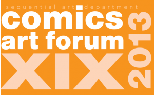 This Friday and Saturday I'll be attending the 19th annual Comics Forum at Savannah College of Art and Design, where I'll be in the company of other comics industry greats such as Raina Telgemeier, Rafael Rosado, Dave Roman, and Dawud Anyabwile.  It's going to be a great time talking about comics, and visual storytelling, so please join us, and if you're a student, sign up for a workshop or portfolio review.   For more information, check out this link here–  http://seqalab.com/comics-art-forum-xviiii/