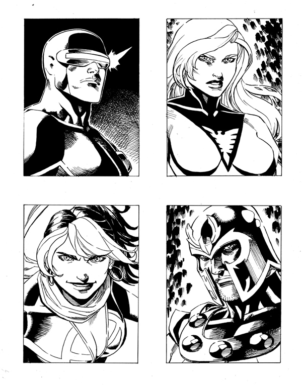My art dealer has some new pieces up for sale on his site, including stuff from Avengers Vs X-Men, Scarlet Spider, and more.  Check it out at Anthony's Comic Book Art–  http://www.anthonyscomicbookart.com/ArtistGalleryRoom.asp?ArtistId=1172