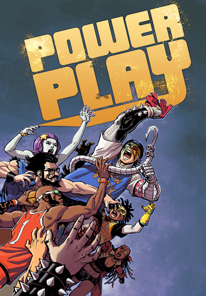 Power Play #3 is live and available at Comixology!  Just click here– http://t.co/x6jxU3kR This issue continues the story of Mac's introduction to the Power Play games, and continues to break new ground in digital storytelling.  It's really cool to make such a unique comic like this, and I think this issue is the best so far, and does the most with the digital effects.  Please check it out, and I'd love to hear what you think!