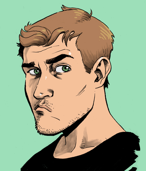 """If you're going to the Baltimore Comic Convention this weekend, keep an eye out for this guy. I'll be at Baltimore's scenic inner harbor, which is only a LITTLE BIT like The Wire. I'll be sharing a booth with Dean Haspiel, Seth Kushner, and Joe Infurnari  http://man-size.livejournal.com/583221.html  I'll also be joining the ComiXology folks on their panel """"Creating Comics the ComiXology Way"""" on Saturday from 1-2pm in room 302/303, where I'll be talking all about the creation process behind Power Play and AvX. So come on out to Baltimore and learn all about this new wave of creating comics!  http://baltimorecomiccon.com/about/programming/"""