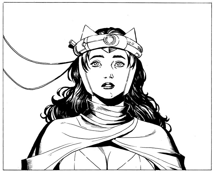 Here's a peek at Scarlet Witch from a panel I drew for AvX Infinite #3   On sale Wednesday on Comixology!    hypotheticalisland :     Here is a panel starring the Scarlet Witch from an upcoming issue of the Marvel series   Avengers vs X-men  . This panel is from issue three of the series, which is drawn by  Reilly Brown  from the studio.