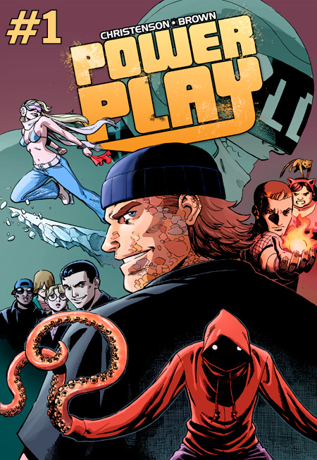 "powerplaycomic: CHECK OUT WHAT COMIC PROS ARE SAYING ABOUT THE FIRST ISSUE!! ""BLAM! This is the kind of comics I want to read! Fast, fun, clever, goofy, and really well drawn! Like the boy said, ""Please, sir, I want some more!""  —Chris Burnham (BATMAN INC, OFFICER DOWNE) ""Power Play has got a winning hand of high-octane action and clever character work, along with the best use of the digital medium in a superhero comic I've ever seen.""  —Fred Van Lente (AMAZING SPIDER-MAN, INCREDIBLE HERCULES) ""A cross between Teen Titans and Entourage, Kurt Christenson and Reilly Brown celebrate 21st Century geek-chic with POWER PLAY, the next best thing in young-adult superhero comics!"" —Dean Haspiel (BILLY DOGMA, BORED TO DEATH) ""Power Play spares no panels getting straight to the action, and maintains a fast clip throughout. In just one issue, Christenson and Reilly introduce an ensemble cast of unique and charming characters with seemingly little effort. Reilly is doing the work of his career, and seems to be channeling some kind of manga mastery at the moment, something I never recognized in his art before. And if all that wasn't enough, you can't beat Gowanus Pete."" —Paolo Rivera (AMAZING SPIDER-MAN, DAREDEVIL) ""Reilly and Kurt have captured the perfect method of storytelling for the digital age of comics. Reilly's always-excellent storytelling only excels when he controls the way your eye sees the panels. POWERPLAY is all about slacker superheroes who aren't even superheroes and I can't wait to see where they take it!"" —Fabian Nicieza (X-Men, ROBIN) Issue #1 will debut at NYCC where you can meet Gowanus Pete in person and participate in the Comixology Tweet-Up reading! But check out the FREE preview to get a taste of the action!"