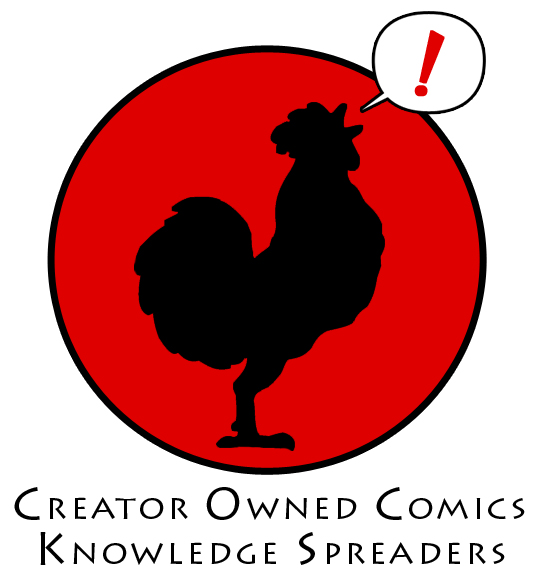 Good move, I fully support this idea!    stephenrl :     Who would like to join the cause? We're not against mainstream comics. Hell, we love 'em! We just think there's room to try something new, something different, something creator-owned!