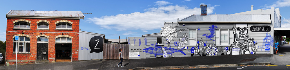 The Great North Road Mural