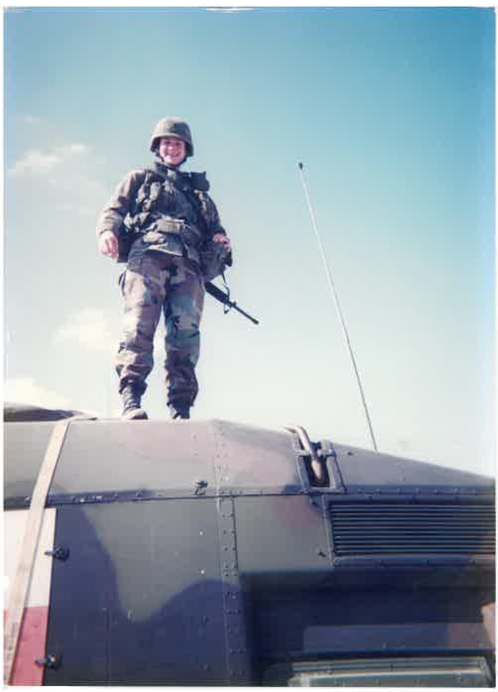 1996 - In Germany, preparing for deployment to Kosovo