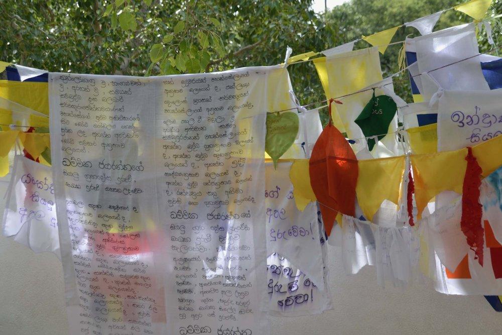 Sri Maha Bodhi Tree Prayer Flags