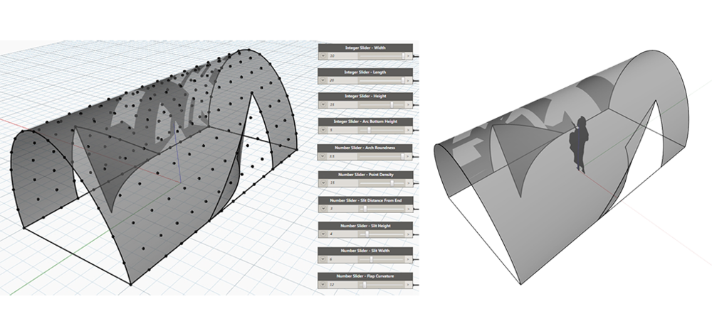 "The Dynamo file for this ""sketch model"" can be downloaded  HERE ."