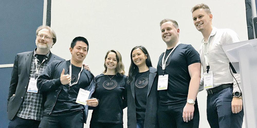 Brad Prestbo (DTT organizer), Edbert Cheng,Gaby Baierle-Atwood, Katherine Chin,Tristan McGuire, Kyle Martin (DTT organizer)