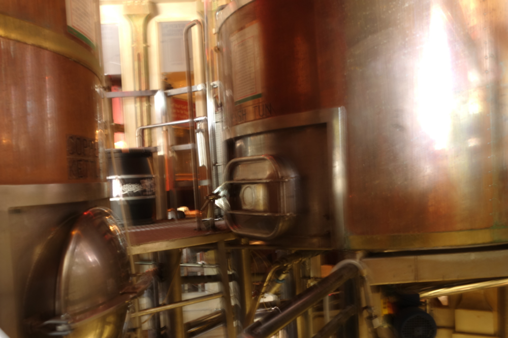 Copper Kettle and Mash Tun