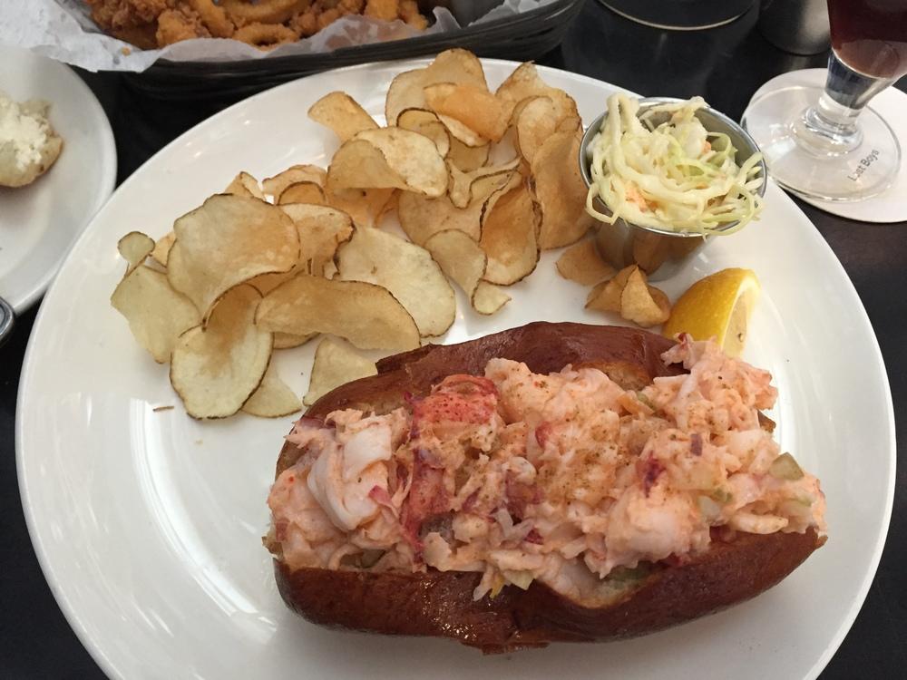 Ethel's Creamy Lobster Roll