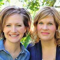 Elizabeth and Liz Evans Simple Simon and Co Elizabeth Evans and Liz Evans are two girls who married brothers and ended up with the exact same name. They blog together at Simple Simon and Company - sharing their love of sewing, quilting and the art of homemaking. They have had their work featured in magazine, television, video, and have a fabric line that will debut this fall. They feel very blessed by the opportunities their blog has provided and feel ardently about giving back.
