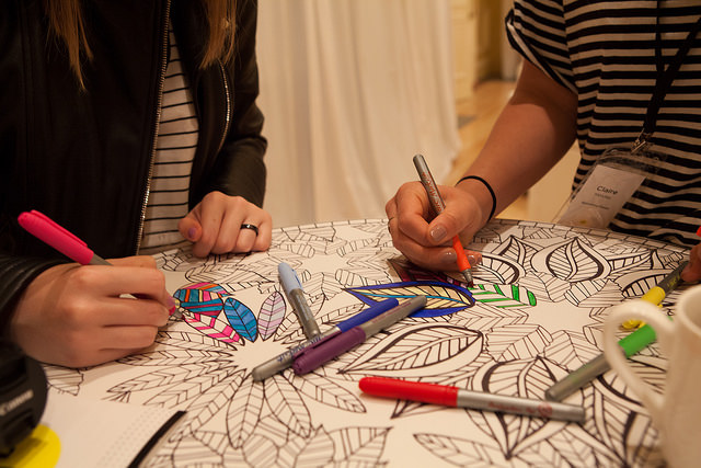 Women-Coloring-in-Squarespace-Lounge-at-Alt-Summer-2015