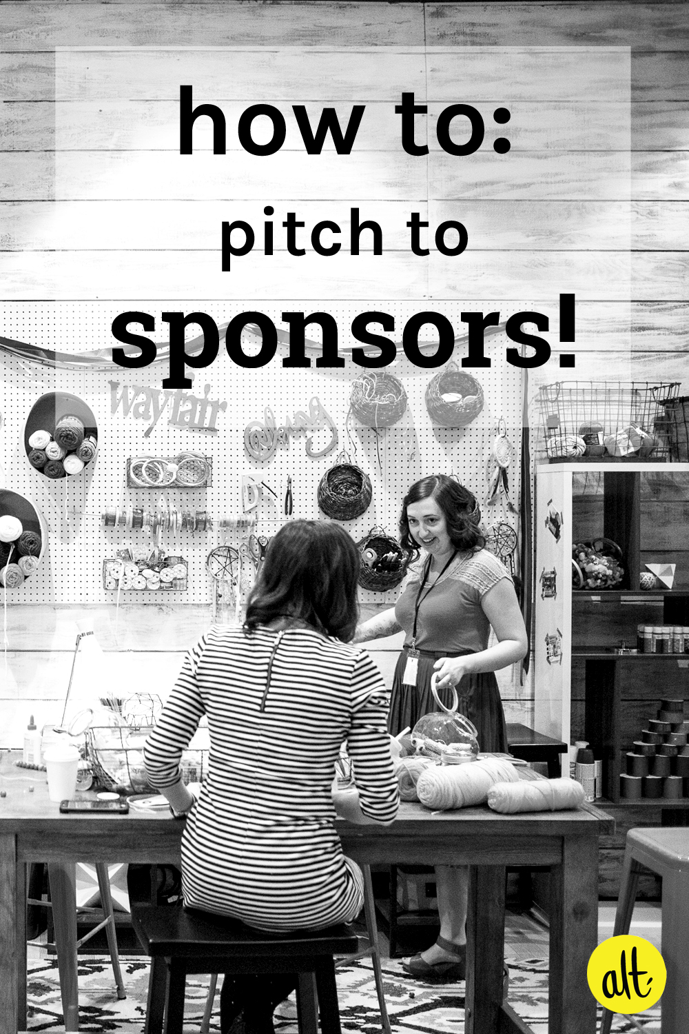 Advice for pitching to brands and sponsors