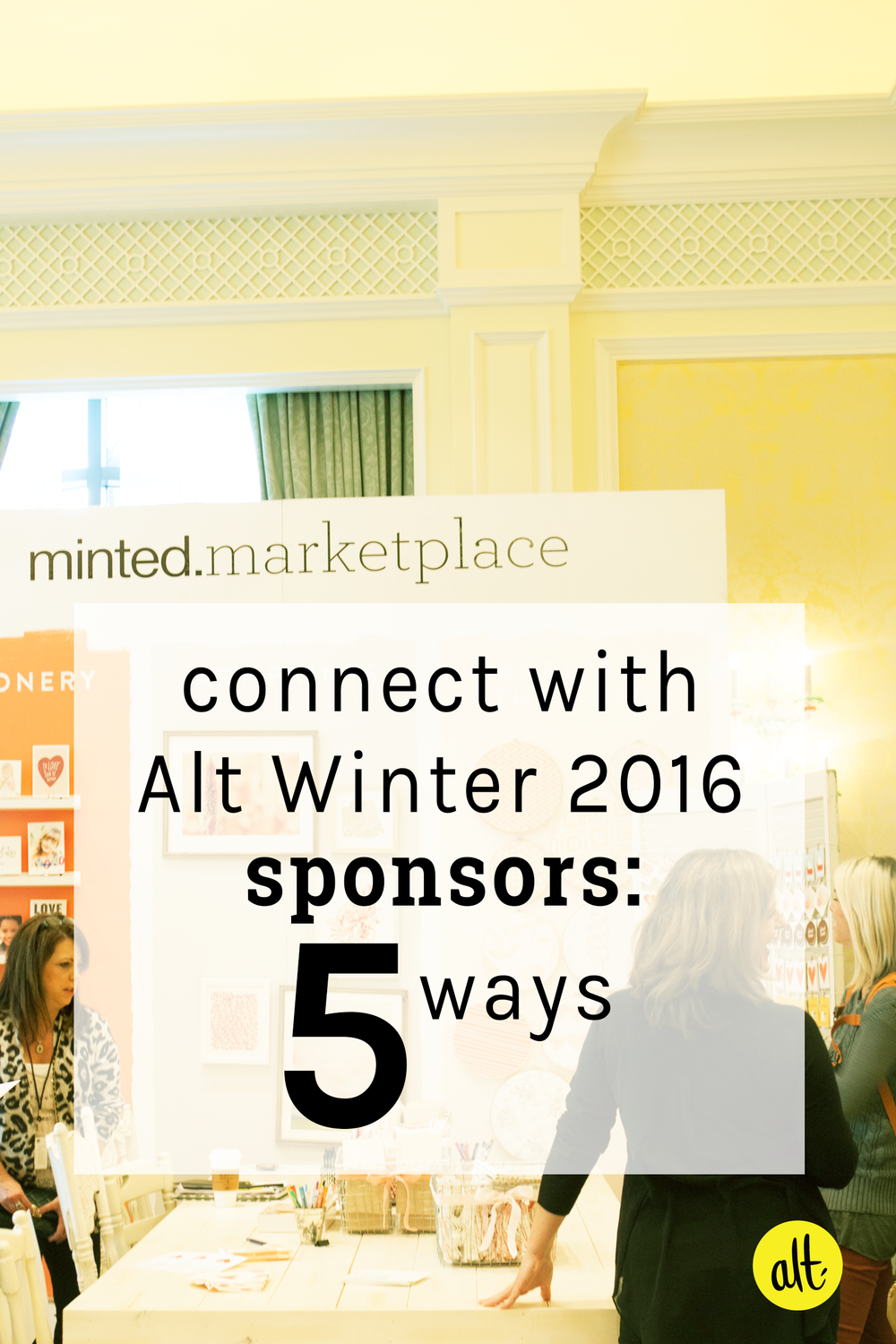 Connect with Alt Winter 2016 sponsors before you head to Salt Lake City in January. Five tips for how you can start a relationship with them today.