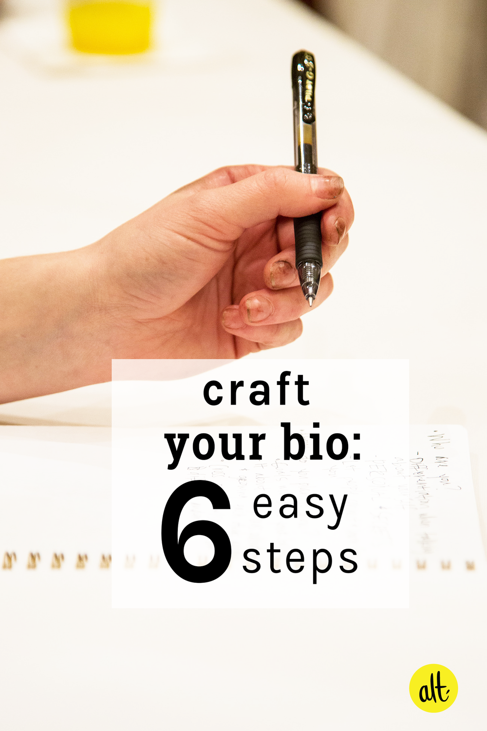 Is your bio getting a little stale? Did you know you should be updating it about once a year? Follow this tip and five others to craft a great bio that represents you well.
