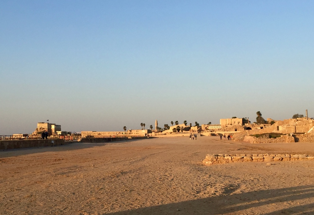 More of the gorgeous ruins in Caesarea!