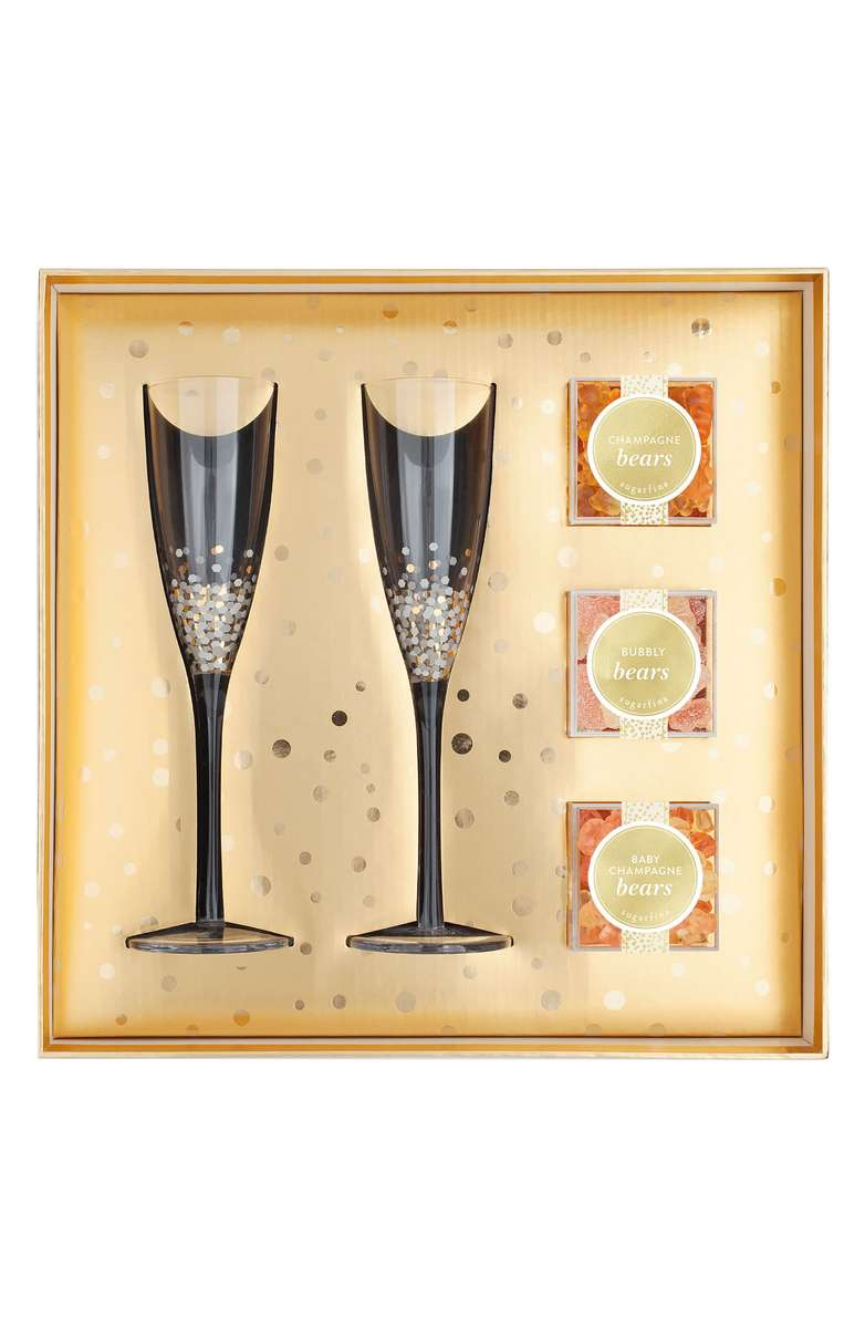 Pop The Champagne Party Gift Set- $50