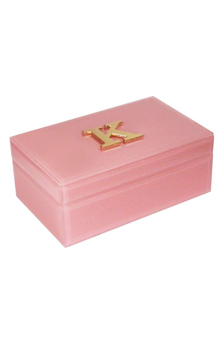 Monogram Jewelry Box - $24