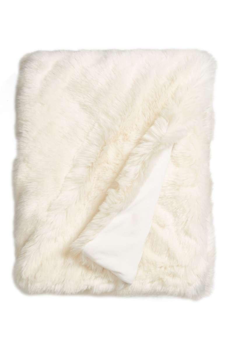 Faux Fur Blanket - $149