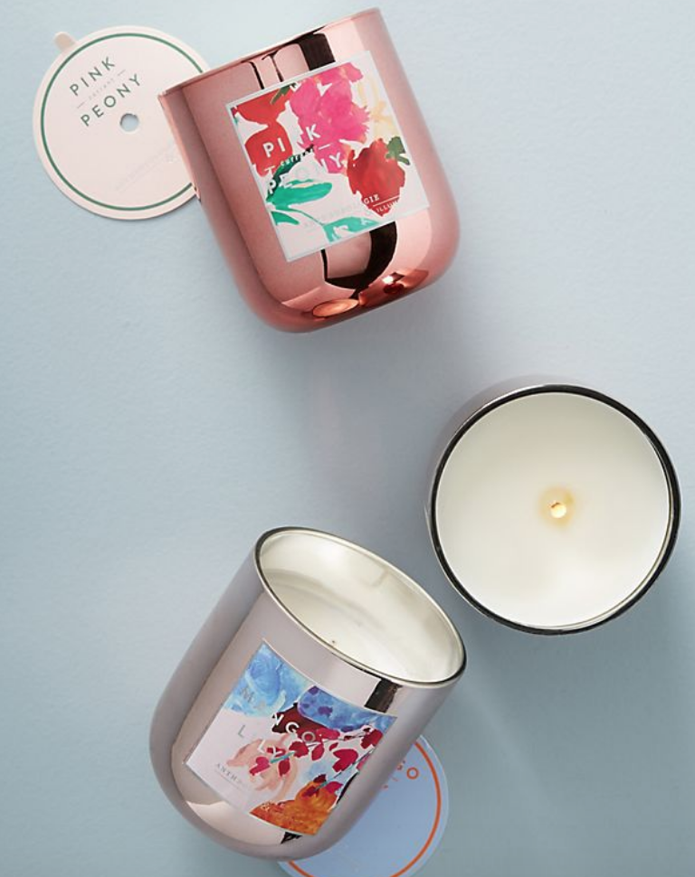 Petale et Bloom Jar Candle - $24