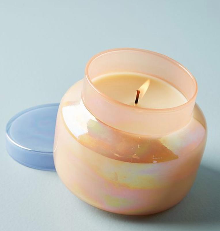 Capri Blue Iridescent Jar Candle - $30