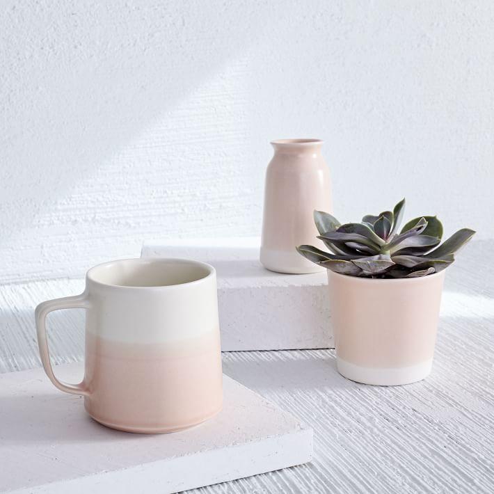 Paper & Clay Mug, Vase + Planter - $36-$44