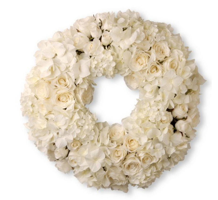 Rose & Hydrangea Wreath - $189.99