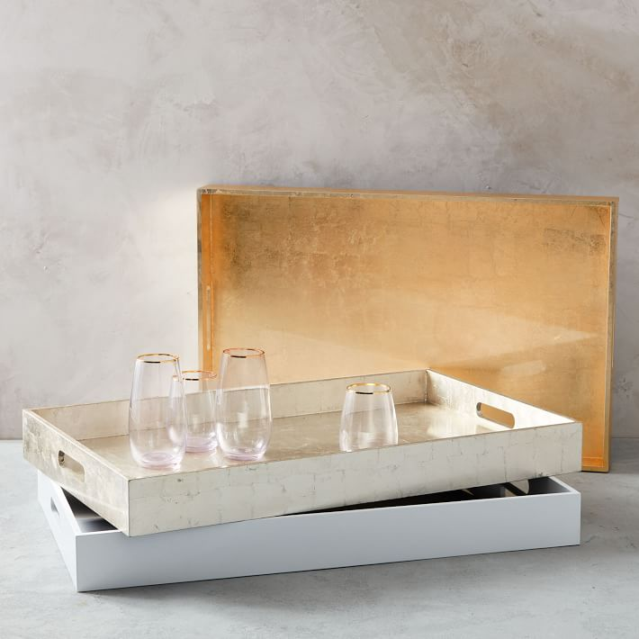 Large Rectangle Laquer Tray - $69